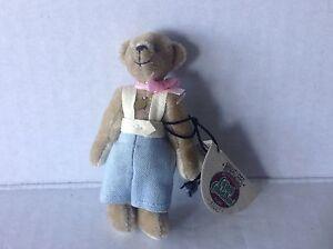 Ganz Miniatures Cottage Collectibles Bear Billy Cc7219 Nwt Ebay