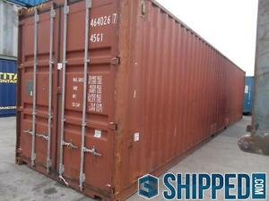 40FT INTERMODAL CARGO CONTAINER HOME STORAGE BEST PRICE IN TEXAS