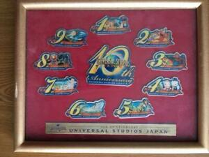 Universal-Studios-Japan-10th-Anniversary-Pin-Badge-Set