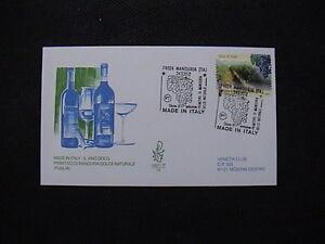 ITALIA-2012-BUSTE-PRIMO-GIORNO-FDC-VENETIA-VINO-DOCG-PRIMITIVO