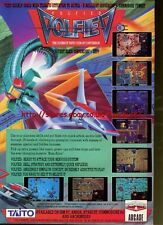 "Volfied ""Ultimate Taito Coin-Op Conversion"" 1991 Magazine Advert #5560"
