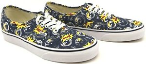 City Freshness Canvas Men's Trainers Vans Lace blu Pump Boom Authentic up xtqAxwTX