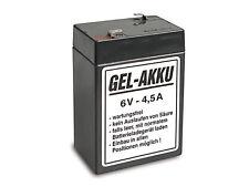 Batterie Vlies wartungsfrei 6V 4,5 Ah AWO RT IWL SR59 SR56 ES EMW BK350 MOTORRAD