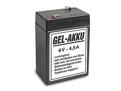 Batterie Vlies Wartungsfrei 6v 4,5 Ah Awo Rt Iwl Sr59 Sr56 Es Emw Bk350 Motorrad Ohne RüCkgabe