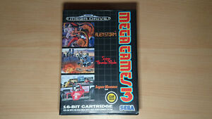 MEGA-GAMES-3-PAL-ASIA-Sega-Megadrive-Genesis-neuf-NEW