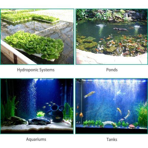 "2 Pcs 4/"" x 2/"" Cylinder Air Stone Fish Tank Aerator Diffuser Aquarium Hydroponics"