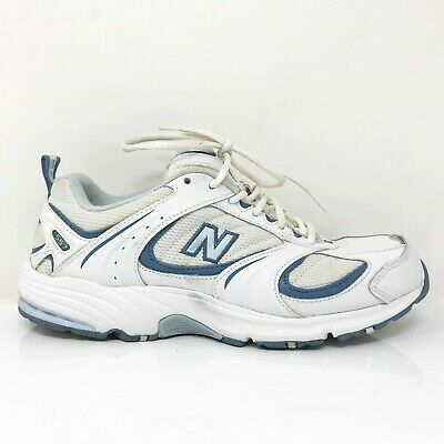 New Balance Womens 557 WW557WB White Running Shoes Lace Up Low Top Size 9 B | eBay