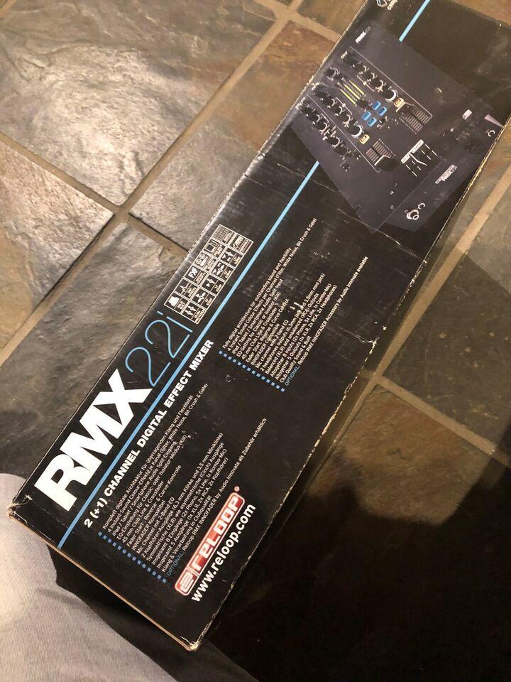 HiFi / DJ hovedtelefoner, Andet mærke, Reloop rmx22i