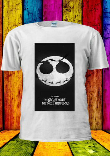Nightmare Before Christmas Jack Fear T-shirt Vest Tank Top Men Women Unisex 324