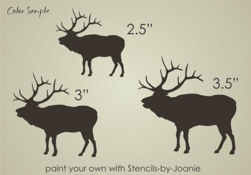 Stencil Elk Bugle Bull Rustic Animal Outdoor Mountain Lodge Cabin Art Hunt signs