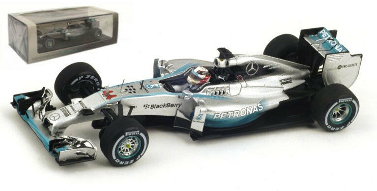 Spark S3141 mercedes W05 winner italy gp 2014-lewis hamilton 1 43 scale