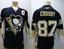 miniature 1 - CCM Reebok NHL Pittsburgh Penguins Sidney Crosby #87 Hockey Jersey mens Small