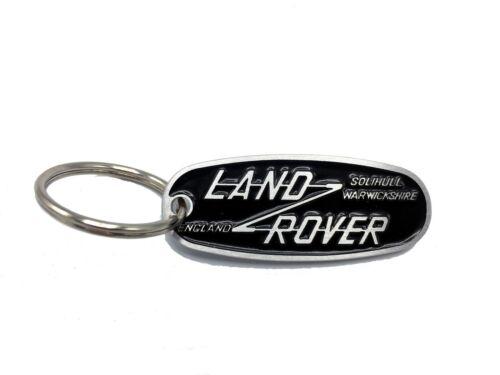 Land Rover Solihull Keychain Series Defender 90//110//130 II//IIA//III Keyring