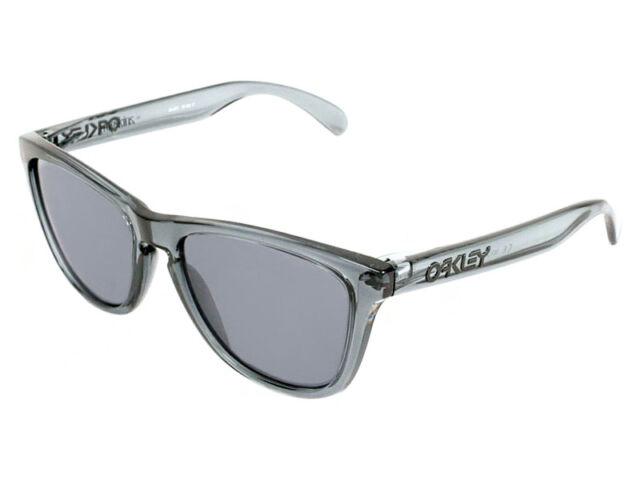 fbe245b9a6f Oakley Frogskins Sunglasses Acid Black Frame Grey Lens 24 253 for ...