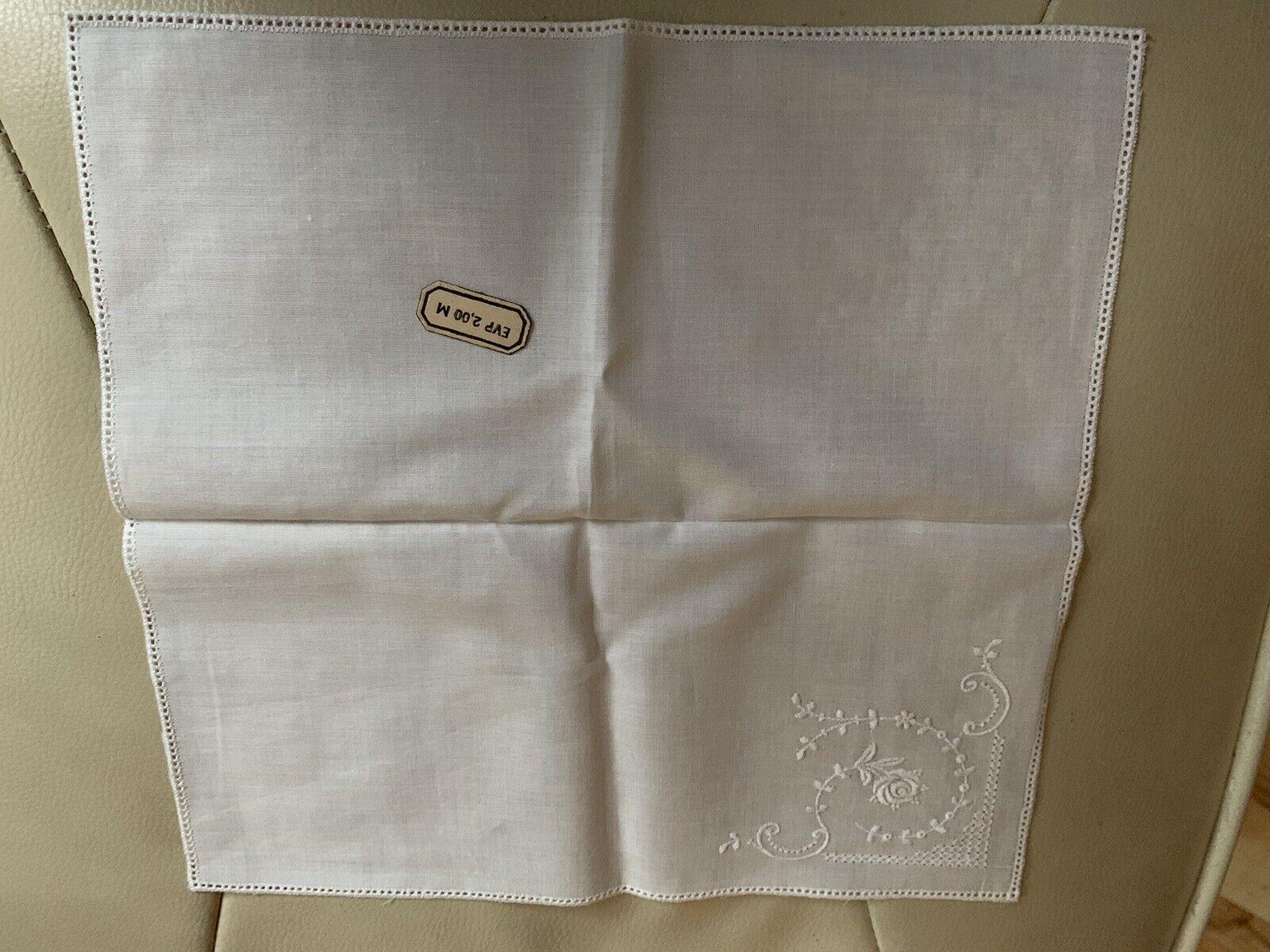 1 Original GDR Ladies Handkerchief
