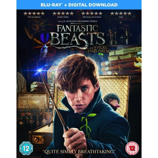 Fantastic Beasts and Where to Find Them (Blu-ray DVD, 2017)