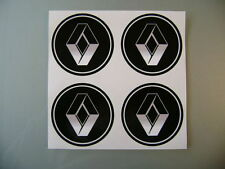 4x 45 mm fits renault wheel STICKERS center badge centre trim cap hub alloy