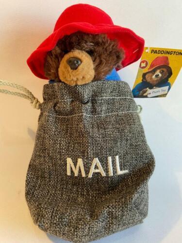 """NEUF-Vendeur Britannique-Sous Licence 21 cm PADDINGTON BEAR Jouet Doux 8/"""" en sac postal"""