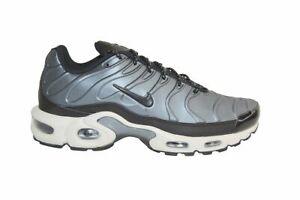 Details about Mens Nike Tuned 1 Air Max Plus TN - AJ2013401 - Metallic Blue Dusk Black