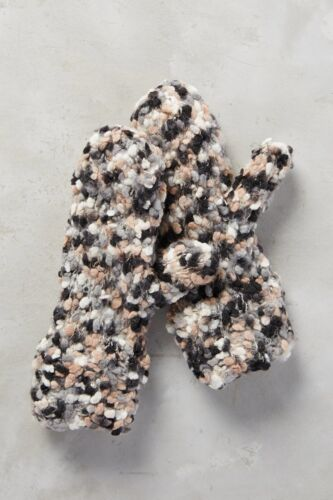 NWT Anthropologie First Snow Mittens Various Colors Super Soft and Warm