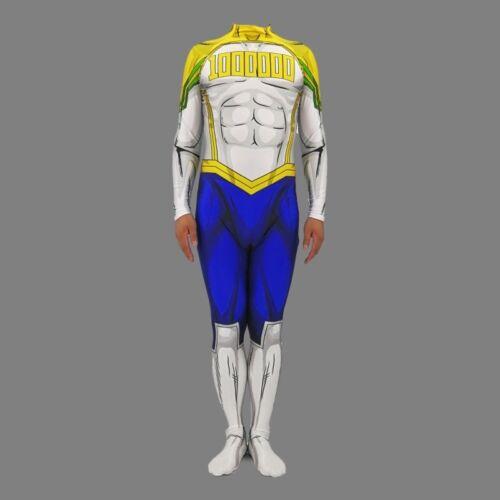 My Hero Academia Boku No Hero  Costume Mirio Togata Jumpsuit Suit Cosplay Gifts