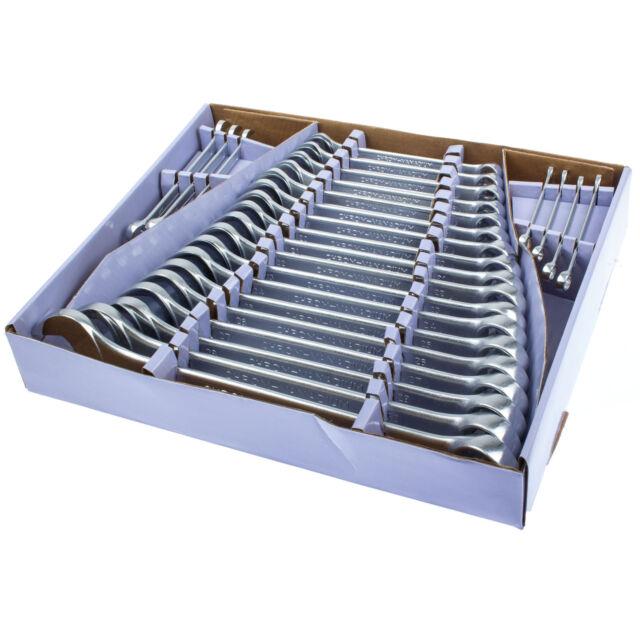 Maul Ringschlüssel Satz 25-tlg Ring Maulschlüssel Set Ring Gabelschlüssel BGS