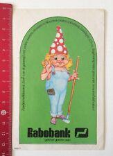 Aufkleber/Sticker: Rabobank - Geld En Goede Raad (10061684)
