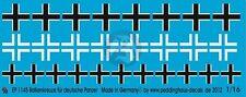 Peddinghaus 1/16 Balkenkreuz (Iron Cross) for German Armor WWII (3 types) 1145