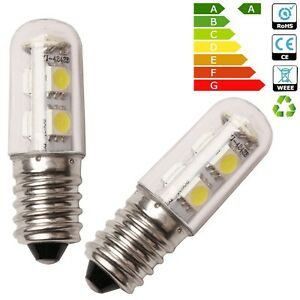 wow 2 x e14 1w mini led light bulb white for range hood refrigerator cooker 713543962451 ebay. Black Bedroom Furniture Sets. Home Design Ideas