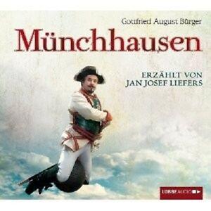 KOCH/LIEFERS/BÜRGER/+ - REISEN DES FREIHERRN VON MÜNCHHAUSEN 3 CD HÖRBUCH NEU