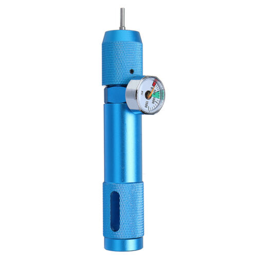 Details about  /Airsoft  12g CO2  Cartridge Charger Fill Adaptor With Readout w// 0-1500
