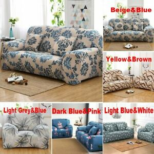 1 2 3 4 Seater Stretch Sofa Covers Wrinkle Free Stretch Lounge