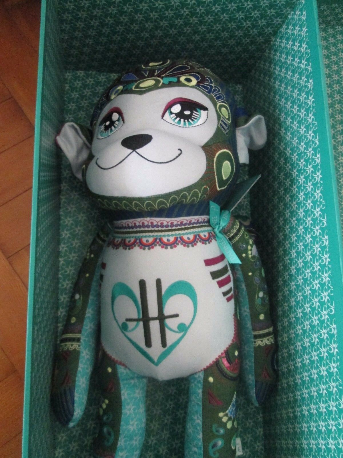 PAPINEE HARRODS LARGE MONKEY NEW BOXED WITH TAGS