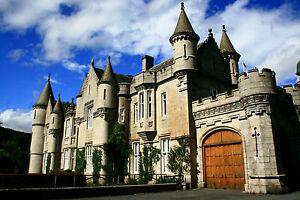 Impression encadrée-Château médiéval sur Donan donnain sur Ecosse photo