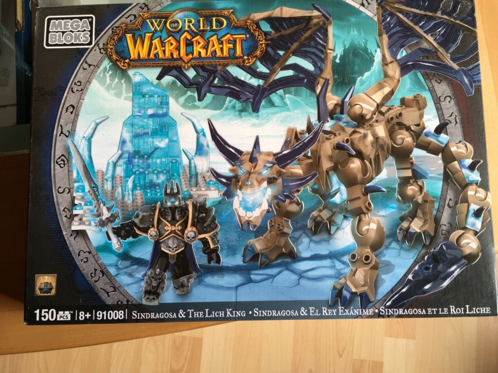 Mega Bloks World of Warcraft Warcraft Warcraft Singragosa & The Lich King Neu Rarität 2825f6