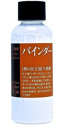 Seiwa Leathercraft Foundation Binder Dye Fastener & Leather Lacquer Primer 100ml