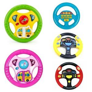 Volant-jeu-jouet-enfant-semblant-bebe-enfants-kid-siege-arriere-voiture-flash-neuf