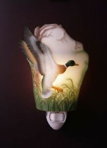 "Ibis & Orchid ""Woodlands Ducks"" Night Light (#29)"
