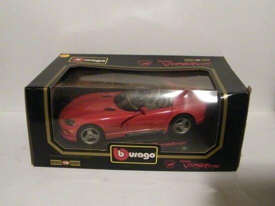 promociones Bburago 1 18 18 18 Diamantes 1992 Dodge Viper Rt 10 Diecast Metal Auto  Disfruta de un 50% de descuento.