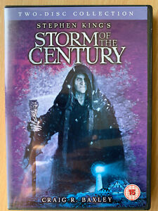 Storm-of-the-Century-DVD-1999-Stephen-King-Horror-Mini-Series-Rare-UK-Release