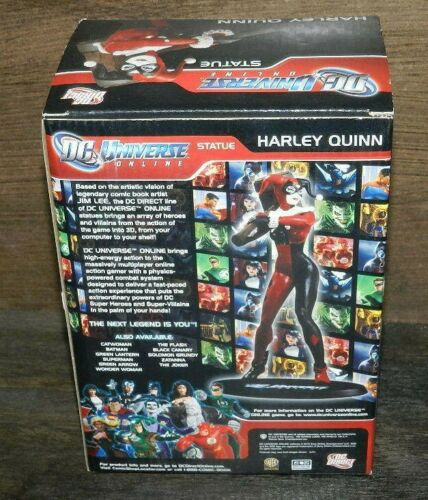 """HARLEY QUINN STATUE ONLINE DC DIRECT 7.1/"""" NEW SEALED PIECE //5000 OR LESS MADE"""