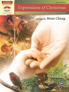 expressions of christmas music book advanced piano solos new on