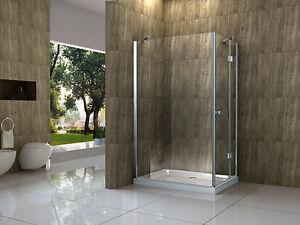 arto se 120 x 80 cm glas dusche duschkabine duschwand duschabtrennung duscht r ebay. Black Bedroom Furniture Sets. Home Design Ideas