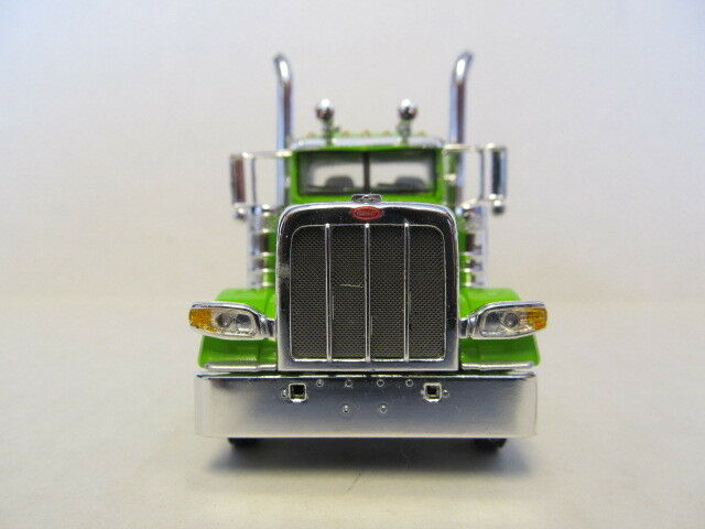 DCP 1 64 SCALE 389 PETERBILT DAY CAB (LONG FRAME) FRAME) FRAME) LIME GREEN cfd5bf
