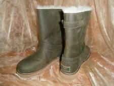 UGG Australia NOIRA BOOTS Pineneedle Green Sheepskin EU 38 - US Women's 7  New!