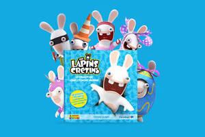 PANINI-CARREFOUR-Lapins-Cretins-Cartes-Stickers-au-choix