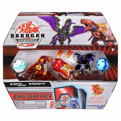 Pyrus Trox Baku-Gear Pack 4-Pack with BakuGear Bakugan Ultra Armored Alliance