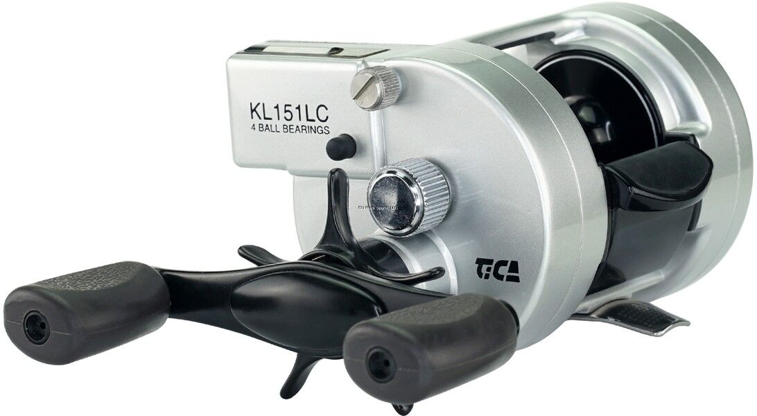 NEW Tica Samira Baitcast FRame Line Counter reel, LH Aluminum FRame Baitcast KL151LC f6d857