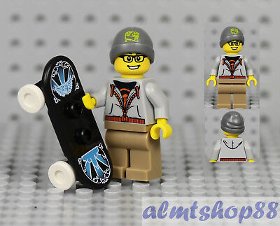 Lego Collectible Minifigures SERIES 4 Minifigure body Street Skater Minifig Part