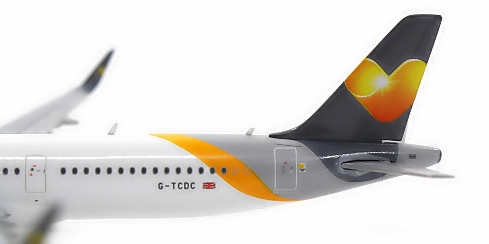 Gemini Jets Thomas Cook Airbus A321 GJTCX1431 1 1 1 400 REGG-TCDC. New 9c843d